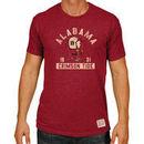 Alabama Crimson Tide Original Retro Brand Big & Tall Mock Twist T-Shirt - Crimson