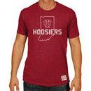 Indiana Hoosiers Original Retro Brand Big & Tall Mock Twist T-Shirt - Crimson