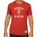 Nebraska Cornhuskers Original Retro Brand Big & Tall Mock Twist T-Shirt - Scarlet