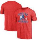 Philadelphia Phillies Fanatics Branded MLB Star Wars Join The Alliance Tri-Blend T-Shirt – Red