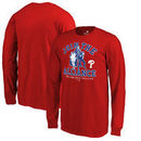 Philadelphia Phillies Fanatics Branded Youth MLB Star Wars Join The Alliance Long Sleeve T-Shirt – Red