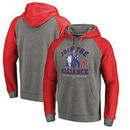 Philadelphia Phillies Fanatics Branded MLB Star Wars Join The Alliance Tri-Blend Hoodie – Heather Gray