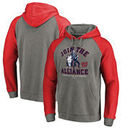 Washington Nationals Fanatics Branded MLB Star Wars Join The Alliance Tri-Blend Hoodie – Heather Gray