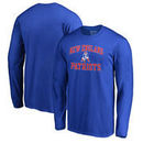 New England Patriots NFL Pro Line by Fanatics Branded Vintage Collection Victory Arch Big & Tall Long Sleeve T-Shirt - Royal