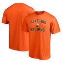 Cleveland Browns NFL Pro Line by Fanatics Branded Vintage Collection Victory Arch Big & Tall T-Shirt - Orange