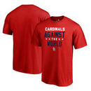 St. Louis Cardinals Fanatics Branded Against The World Big & Tall T-Shirt - Red