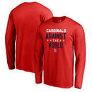 St. Louis Cardinals Fanatics Branded Against The World Long Sleeve T-Shirt - Red