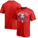 Philadelphia Phillies Fanatics Branded Youth MLB Star Wars Empire T-Shirt – Red
