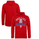 Philadelphia Phillies Fanatics Branded Youth MLB Star Wars Empire Pullover Hoodie – Red