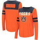 Auburn Tigers Colosseum Women's My Way Striped Long Sleeve T-Shirt - Orange/Navy