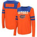 Florida Gators Colosseum Women's My Way Striped Long Sleeve T-Shirt - Orange/Royal