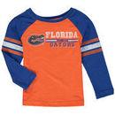 Florida Gators Colosseum Toddler Hidden Cavern Striped Long Sleeve T-Shirt – Orange/Royal