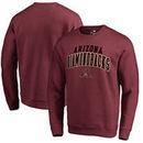 Arizona Diamondbacks Fanatics Branded Square Up Pullover Sweatshirt – Red