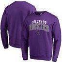 Colorado Rockies Fanatics Branded Square Up Pullover Sweatshirt – Purple