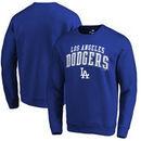 Los Angeles Dodgers Fanatics Branded Square Up Pullover Sweatshirt – Royal