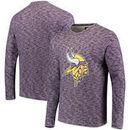 Minnesota Vikings Lightweight Crew Sweatshirt - Heathered Purple
