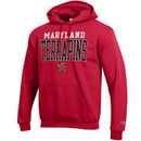 Maryland Terrapins Champion Core Powerblend Hoodie - Red