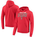 Texas Tech Red Raiders Champion Core Powerblend Hoodie - Red