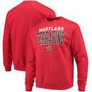 Maryland Terrapins Champion Core Powerblend Crewneck Sweatshirt - Red
