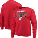 Wisconsin Badgers Champion Core Powerblend Crewneck Sweatshirt - Red