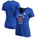 Markelle Fultz Philadelphia 76ers Fanatics Branded Women's Plus Size Notable T-Shirt - Royal