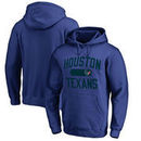 Houston Texans NFL Pro Line by Fanatics Branded Athletic Issue Pullover Hoodie – Navy