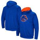 Boise State Broncos Colosseum Big Logo Pullover Hoodie - Royal