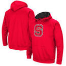 NC State Wolfpack Colosseum Big Logo Pullover Hoodie - Red