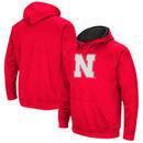 Nebraska Cornhuskers Colosseum Big Logo Pullover Hoodie - Scarlet