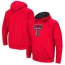 Texas Tech Red Raiders Colosseum Big Logo Pullover Hoodie - Red