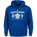 Toronto Maple Leafs Majestic Winning Boost Pullover Hoodie - Blue