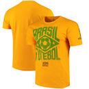 Brazil National Team Crest T-Shirt - Gold