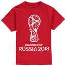 Youth 2018 FIFA World Cup White Out T-Shirt – Red