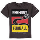 Germany National Team Youth 2018 FIFA World Cup Year And Soccer T-Shirt – Heathered Charcoal