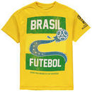 Brazil National Team Youth 2018 FIFA World Cup Team is Back T-Shirt – Yellow