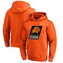 Phoenix Suns Fanatics Branded Primary Logo Big & Tall Pullover Hoodie - Orange