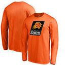 Phoenix Suns Fanatics Branded Primary Logo Big & Tall Long Sleeve T-Shirt - Orange