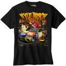 Kyle Busch Joe Gibbs Racing Team Collection Youth Halloween M&M's T-Shirt – Black