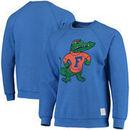 Florida Gators Original Retro Brand School Logo Tri-Blend Pullover Sweatshirt – Royal