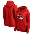 St. Louis Cardinals Fanatics Branded Women's Disney Game Face Pullover Hoodie - Red