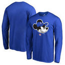 Texas Rangers Fanatics Branded Disney Game Face Long Sleeve T-Shirt - Royal
