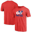 Philadelphia Phillies Fanatics Branded Disney Rally Cry Tri-Blend T-Shirt - Red