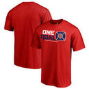 Chicago Fire Fanatics Branded Youth 2017 MLS Cup Playoffs One Goal T-Shirt – Red