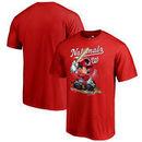 Washington Nationals Fanatics Branded Disney All Star T-Shirt - Red