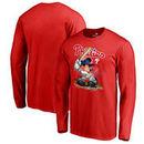 Philadelphia Phillies Fanatics Branded Disney All Star Long Sleeve T-Shirt - Red