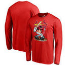 St. Louis Cardinals Fanatics Branded Disney All Star Long Sleeve T-Shirt - Red