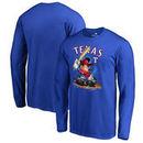 Texas Rangers Fanatics Branded Disney All Star Long Sleeve T-Shirt - Royal