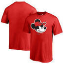 Los Angeles Angels Fanatics Branded Youth Disney Game Face T-Shirt - Red