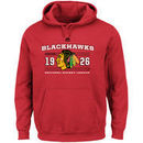 Chicago Blackhawks Majestic Winning Boost Pullover Hoodie - Red