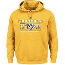 Nashville Predators Majestic Winning Boost Pullover Hoodie - Gold